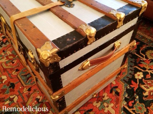 Diy Coffee Table Trunk Remodelicious