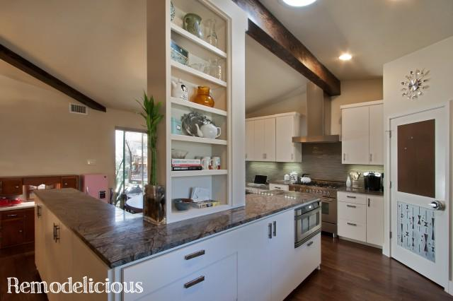 Our Mid Century Modern Kitchen Make Over Remodelicious