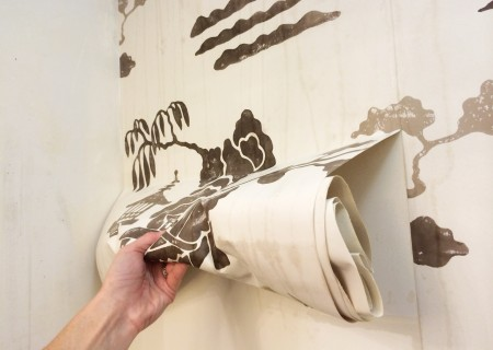 how to remove wallpaper easily without chemicals using STEAM!