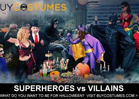 Superhero & Villian Costumes, great deal plus 20% off coupon code!